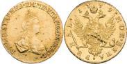 Монета 1 рубль 1779 года, , Золото