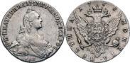 Монета Poltina 1766 года, , Silver
