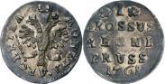 Монета 1 грош 1761 года, , Серебро