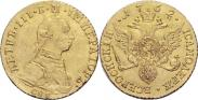 Монета 1 червонец 1762 года, , Золото