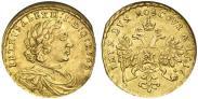 Монета 1 червонец 1711 года, , Золото