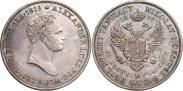 Монета 10 злотых 1827 года, , Серебро