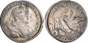Монета Жетон 1739 года, На заключение мира с Турцией, Золото