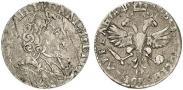 Монета Шестак 1707 года, , Серебро