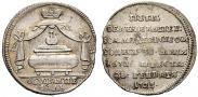 Монета Жетон 1725 года, В память кончины Императора Петра I, Золото