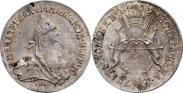 Монета 20 копеек 1764 года, Пробные, Серебро