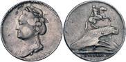 Монета Жетон 1782 года, Памятника Императору Петру Великому в Санкт-Петербурге, Золото