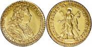 Монета 2 roubles 1727 года, , Gold
