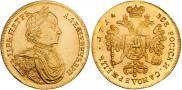 Монета 2 червонца 1714 года, , Золото
