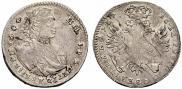 Монета Тинф 1707 года, , Серебро