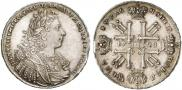 Монета 1 рубль 1728 года, Тип 1728, Серебро