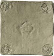 Монета 1 рубль 1726 года, Медная плата, Медь