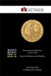 Fritz Rudolf Kuenker GmbH, каталог лотов, результаты торгов