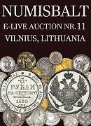 Numisbalt, каталог лотов, результаты торгов