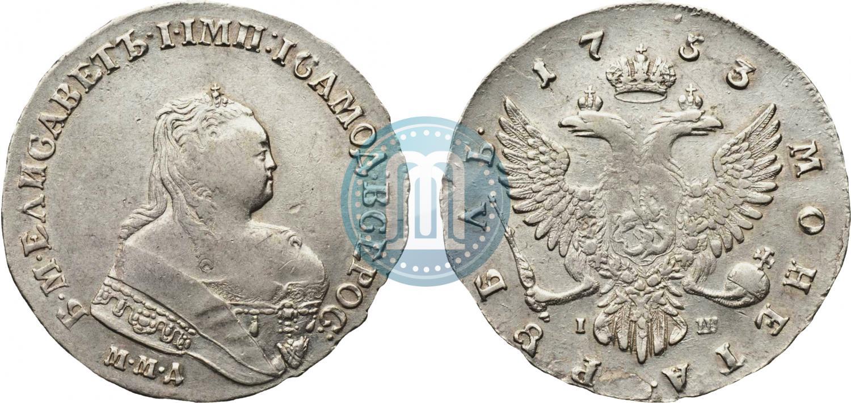 Рубль 1753 года стоимость монеты 1740 года