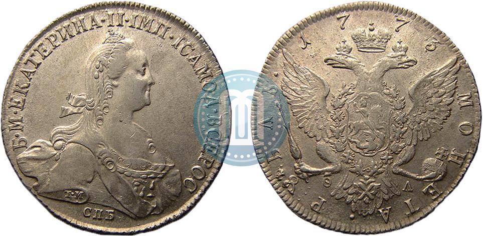 Рубль 1773 года цена коробки для украшений на заказ