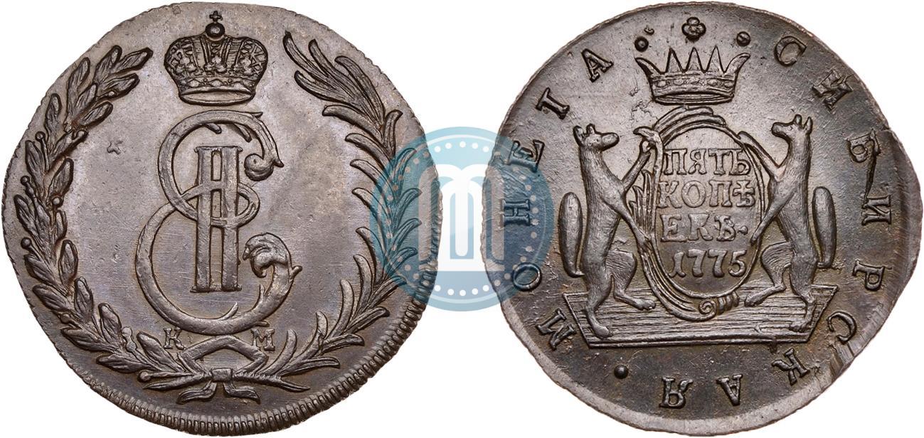 5 копеек 1775 года цена антиквар астрахань