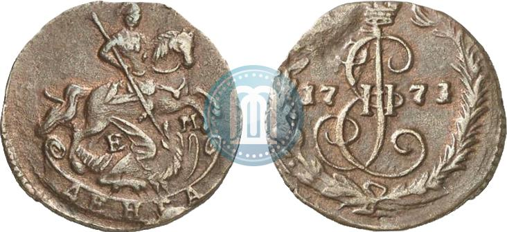 Денга 1771 года цена антиквариат старинных монет
