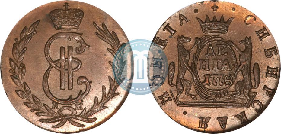 Денга 1778 года цена стоимость монеты 1 рубль олимпиада москва 1980