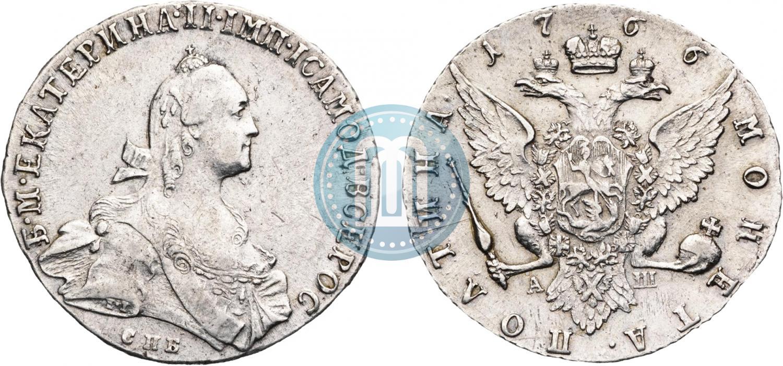 Полтина 1766 года