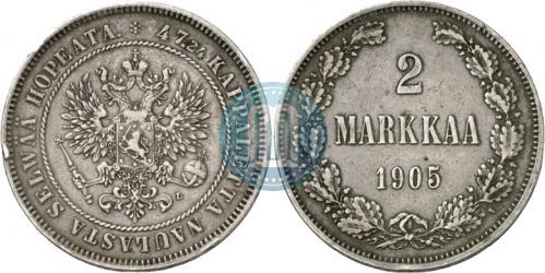 2 марки 1905 года
