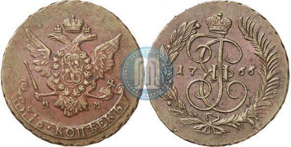 Медные екатерининские монеты цена монета 5 евро открытие австралии