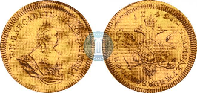 1 ducat 1742 year