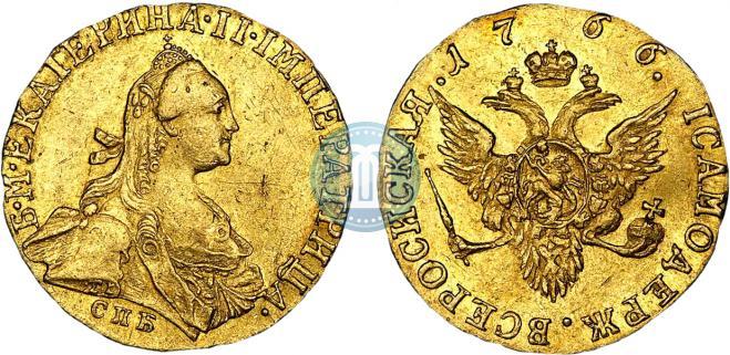 1 ducat 1766 year