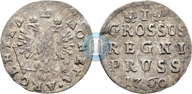 1 грош 1760 года