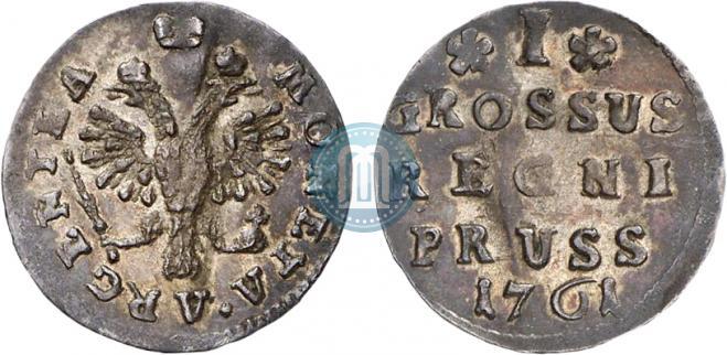 1 грош 1761 года