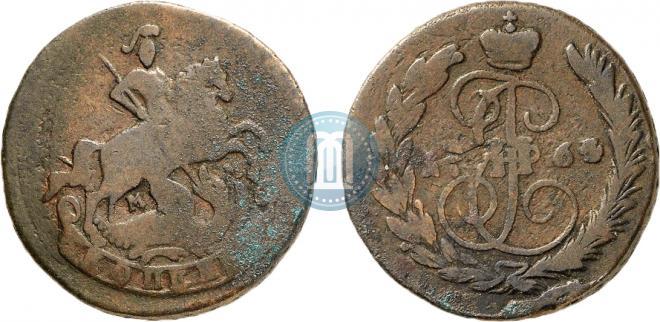 1 kopeck 1764 year