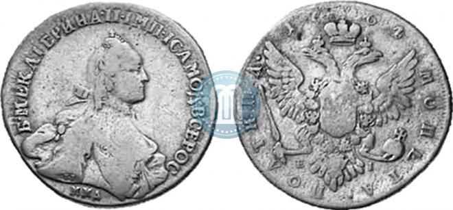 Poltina 1764 year